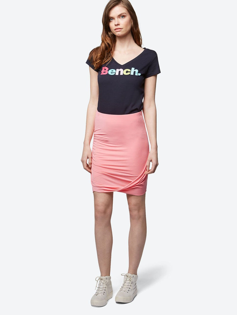 Women's DRAPED JERSEY SKIRT - Bench