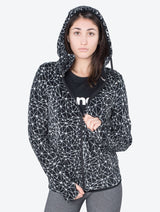 Women's HERITAGE FLEECE ZIP THROUGH HOODY - Bench