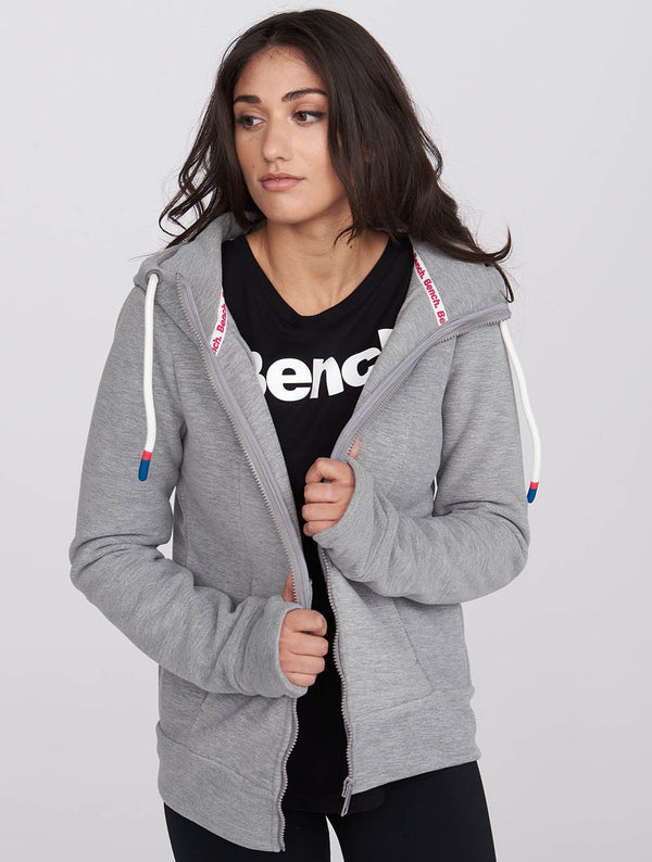 Women's Core Fleece Zip-Thru Hoodie - Bench