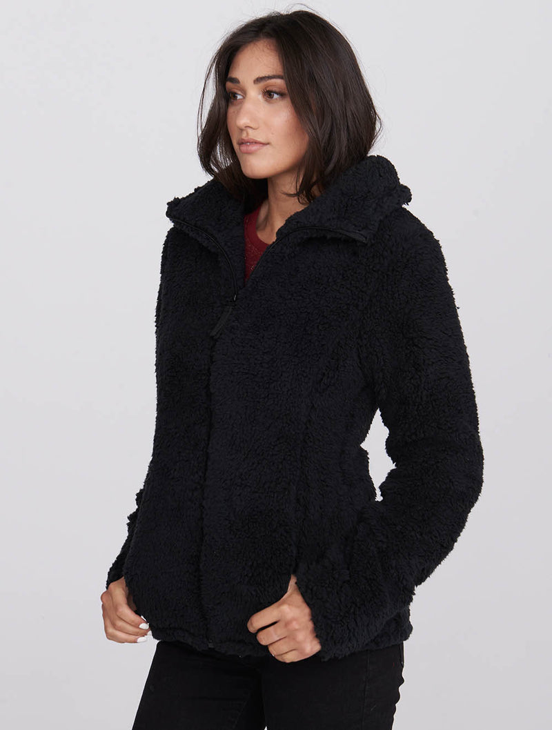 Fluffy Sherpa Jacket