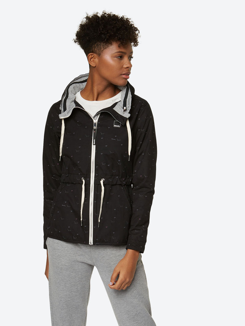 Jacket with Drawstring at the Waist