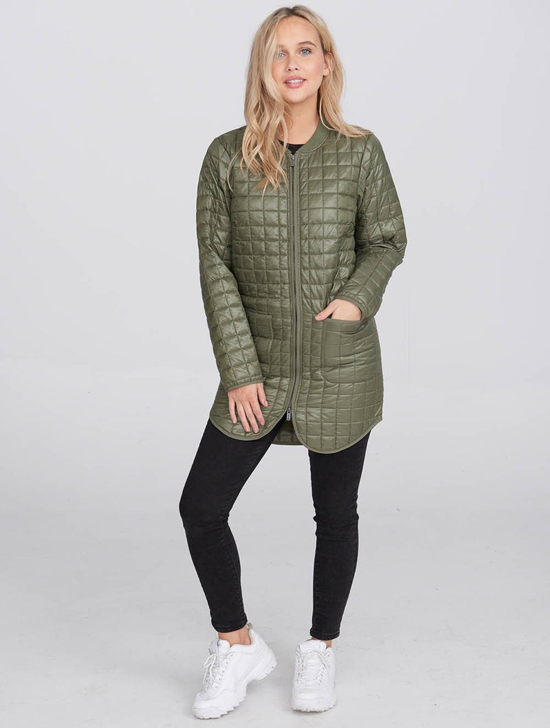 Women's Quilted Light Weight Jacket - Bench