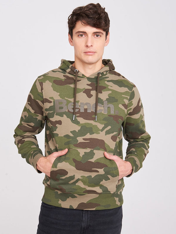 Men's CAMO BENCH HOODY - Bench