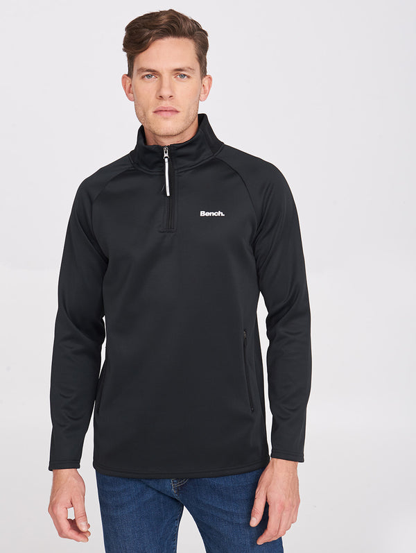 Men's ZIP TRACK TOP WITH JACQUARD - Bench