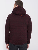 Men's LOUIS HOODED BONDED SHORT JKT - Bench