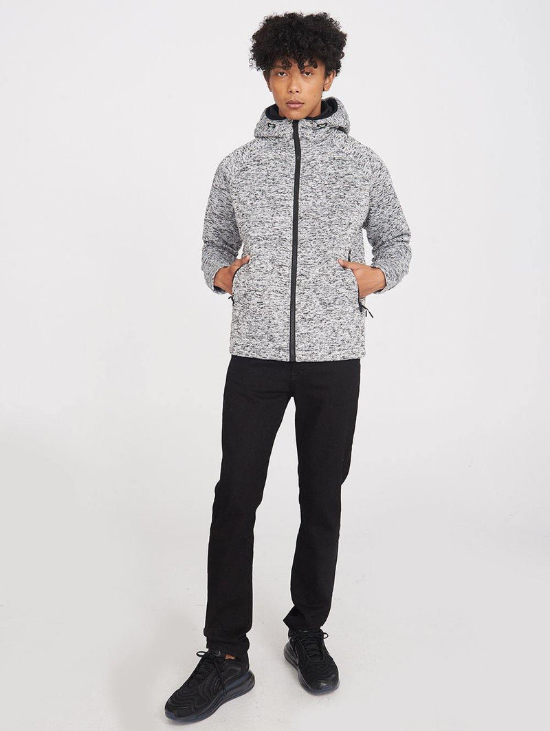 Louis Hooded Bonded Short Jkt