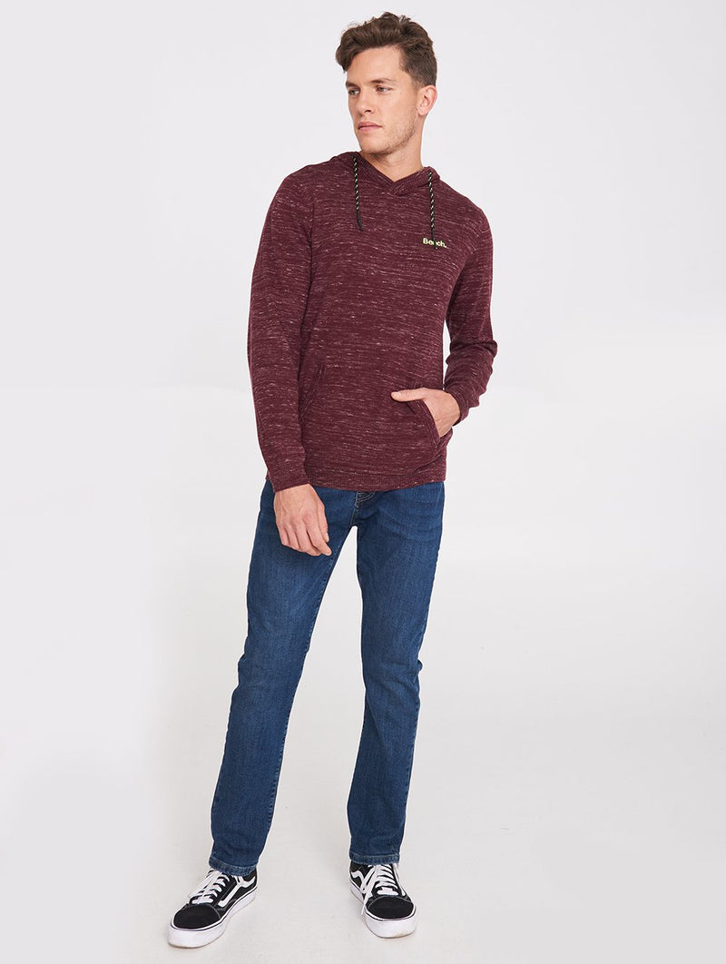 Men's DEREK MELANGE HOODY SWEATER - Bench