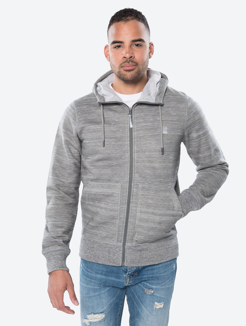 GUMZIP B HOODED ZIP THRU