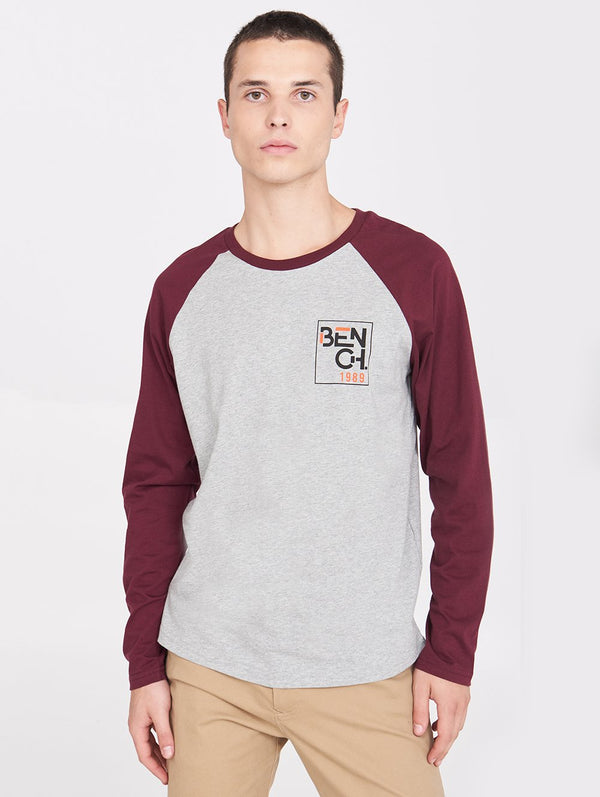 Men's LS CRICKET TEE - Bench