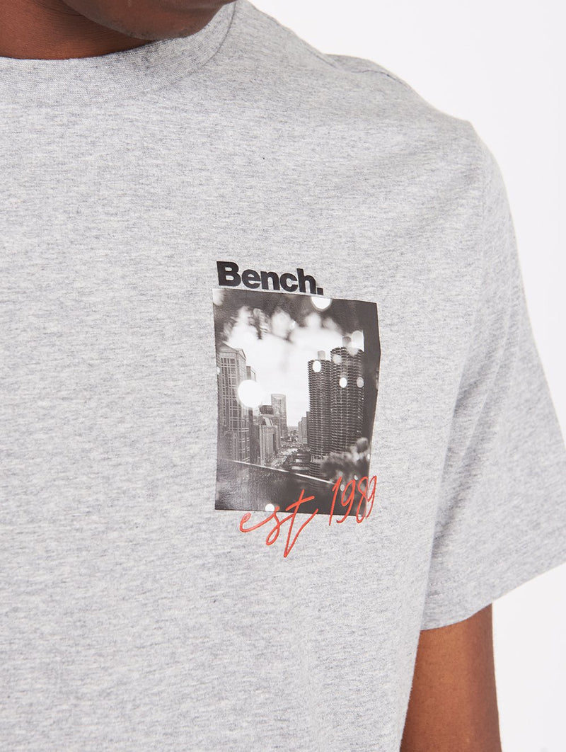 Men's OFFSET SS TEE - Bench
