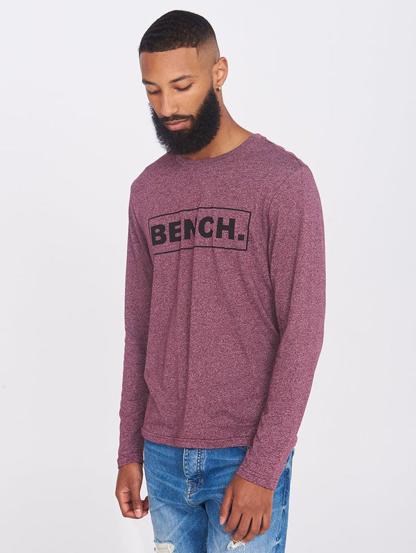 Men's MULTI BOX L/S TEE - Bench