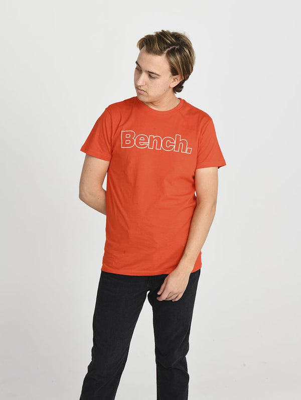 Men's MENS CREW NECK S/S TEE W/ CHES - Bench