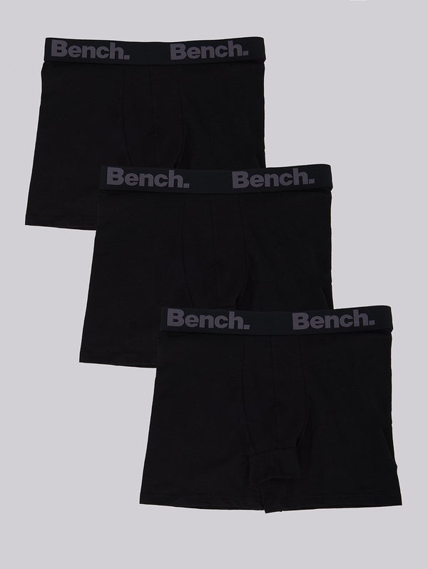 Men's MENS 3 PACK BOXER BRIEFS - Bench