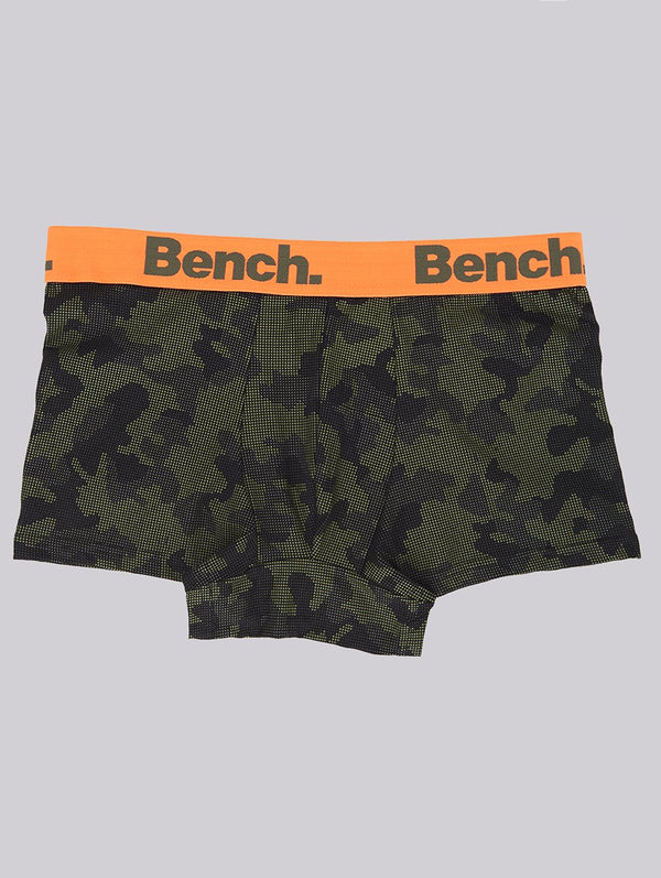 Accessory's MENS 3 PACK TRUNKS - Bench