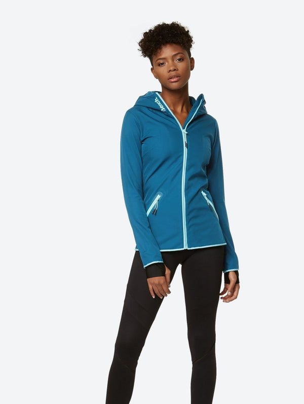 Women's Softshell Jacket with Hood - Bench