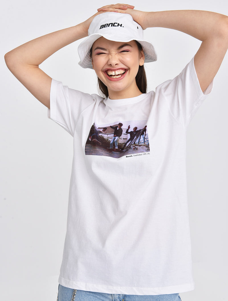 Skater Group Graphic T-shirt