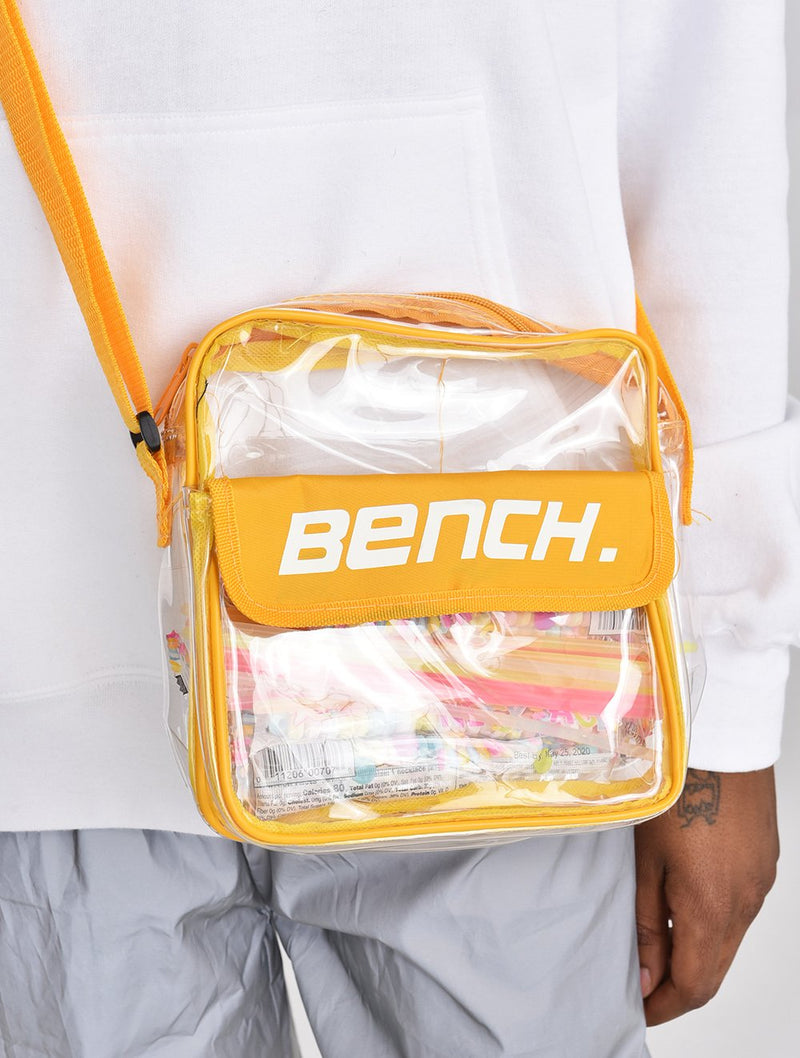 Accessory's Transparent Messenger Bag - Bench