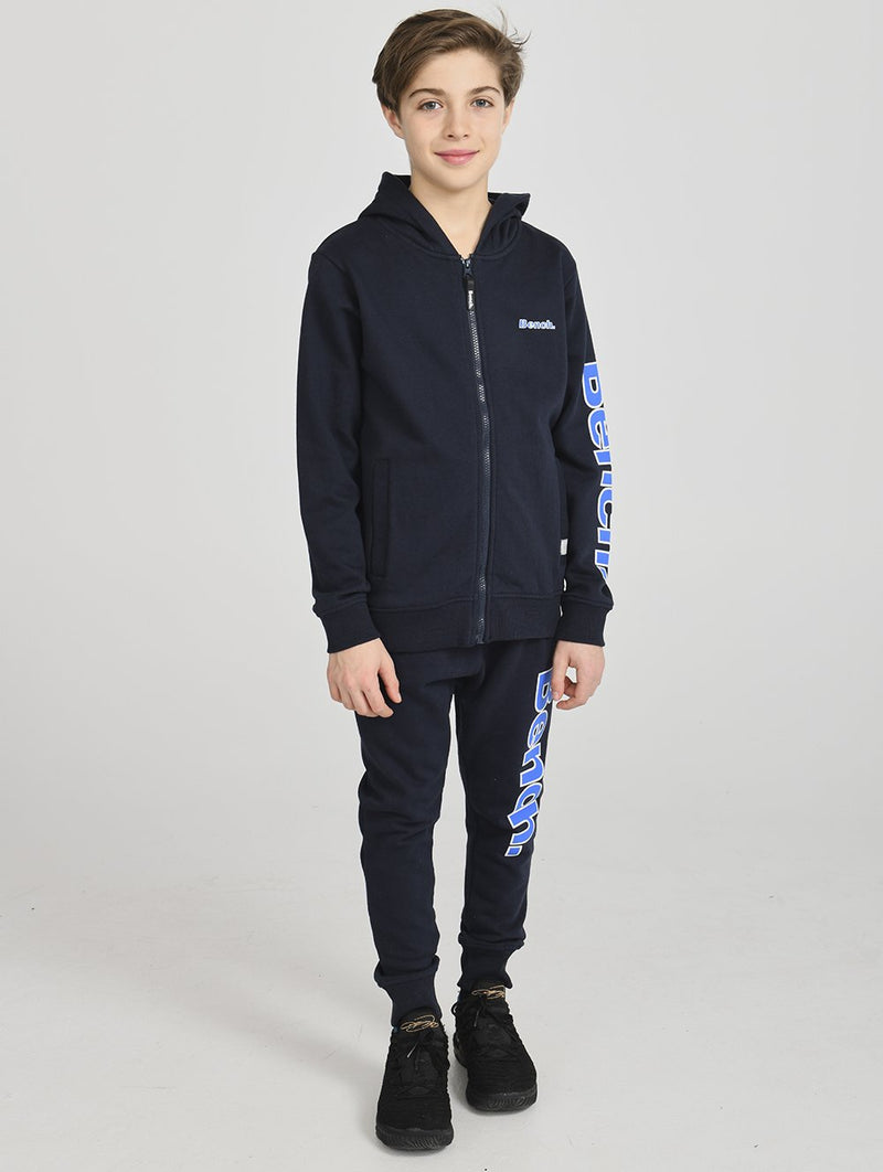 Boys's ZIP UP HOODY SLV PRT - Bench