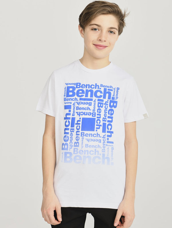 Boys's S/S WITH MULTI BENCH PRT - Bench