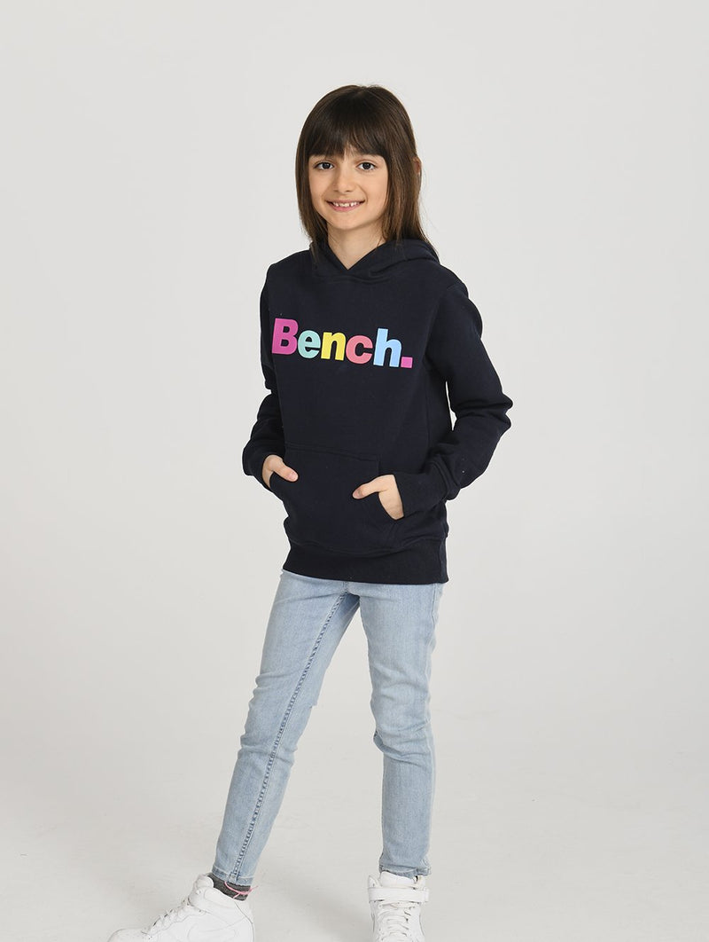 Girls's HOODY MULTI PRT - Bench