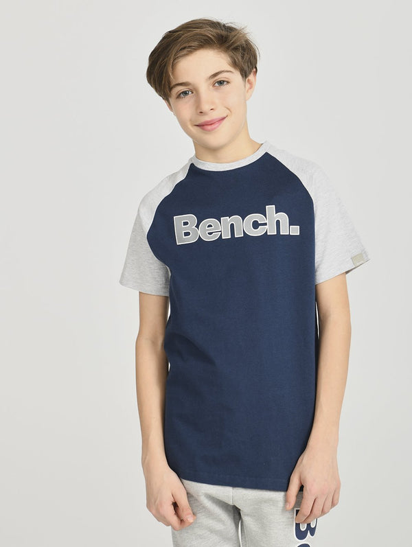 Boys's S/S BASEBALL TEE - Bench
