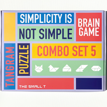 Load image into Gallery viewer, Brain Teaser Puzzle -  Combo Set of 5