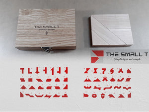 Small T 3 - Puzzle, Educational Toys