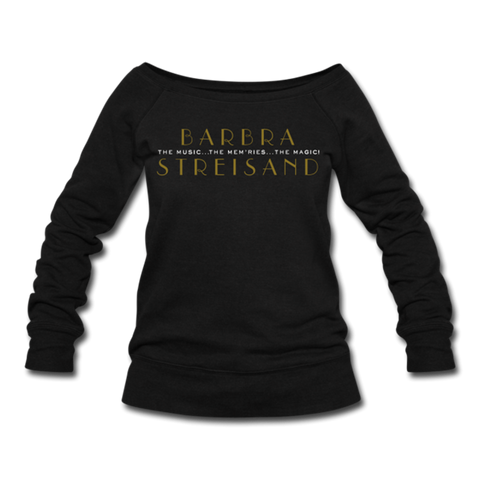 Barbra Black Sweatshirt (Women)