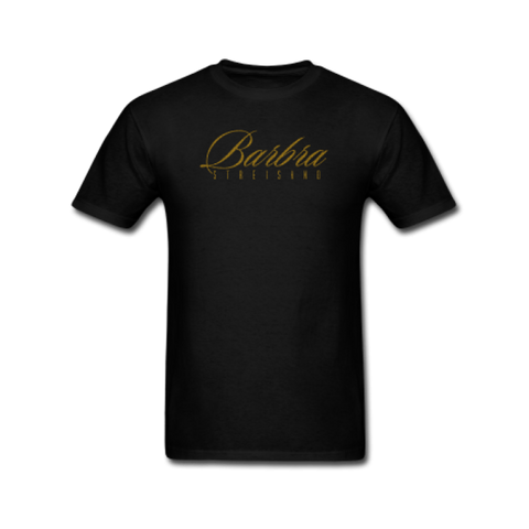 Gold Barbra Logo T-Shirt