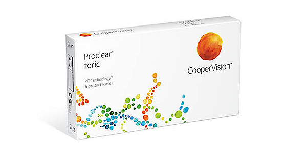 Proclear Toric (Monthly) (6 pack)