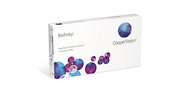 Biofinity (Monthly) (3 pack)