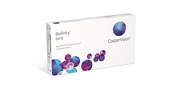 Biofinity Toric (Monthly) (3 pack)
