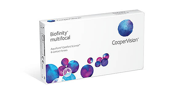 Biofinity Multifocal (Monthly) (6 pack)