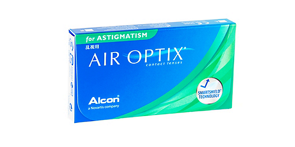 Air Optix For Astigmatism (monthly) (3 pack)