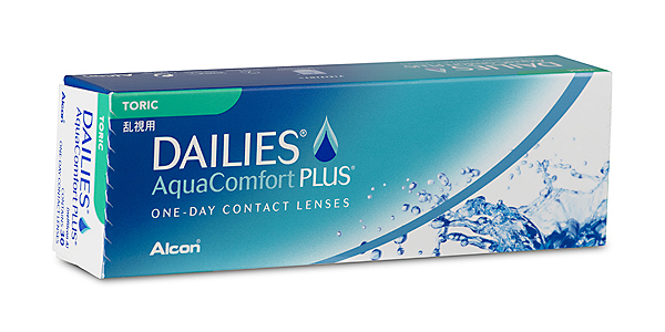 Dailies Aqua Comfort Plus Toric (30 pack)