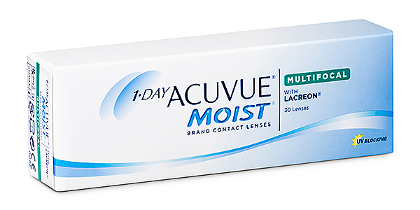 Acuvue 1 Day Moist Multifocal  (30 Pack)