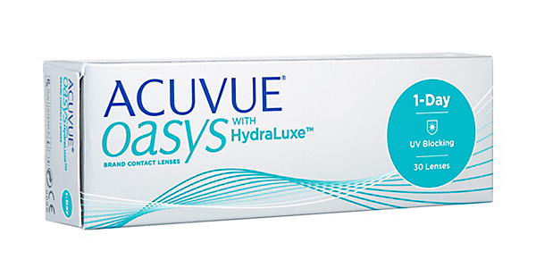 Acuvue Oasys 1 Day with Hydraluxe (30 pack)