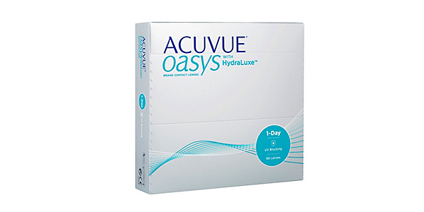 Acuvue Oasys 1 Day with Hydraluxe (90 pack)