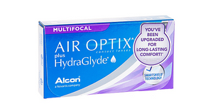 Air Optix Multifocal + Hydraglyde (monthly) (3 pack)