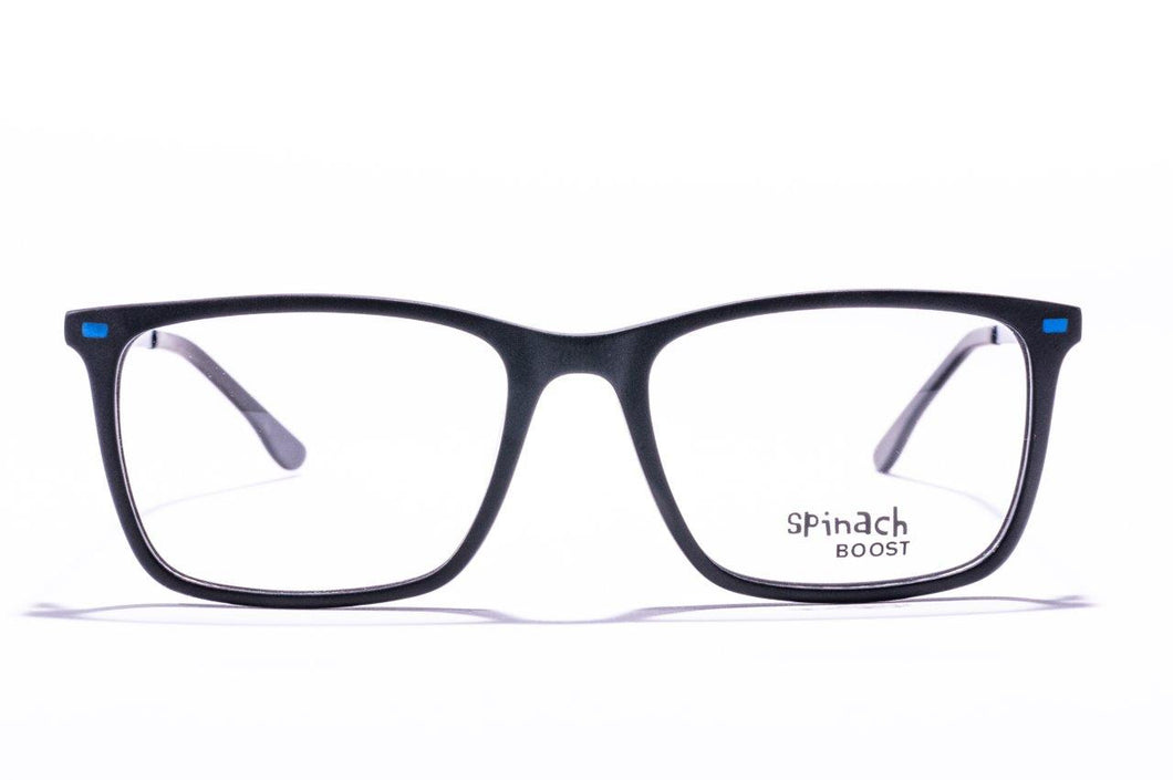 Spinach Kids - SPB007 C1 Black / Blue temples