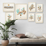 Load image into Gallery viewer, Islamic Arabic Calligraphy Quran Vintage Posters and Prints Wall Picture 🎁