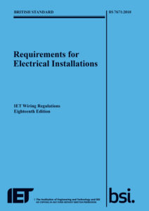 18th Edition Wiring Regulations Front Cover