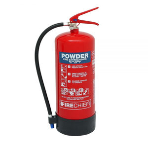 Firechief XTR 9kg Powder Extinguisher