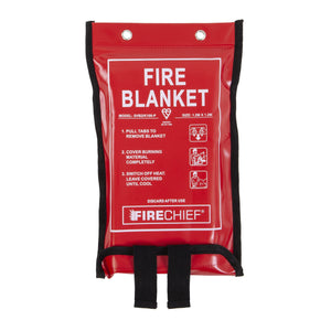 Firechief 1.2 x 1.2m Fire Blanket, Soft Case
