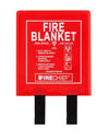 Firechief 1.2 x 1.2m Fire Blanket, Rigid Case