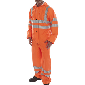 Bseen Pu Coverall Orange