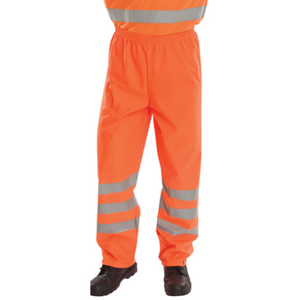 Bseen Pu Overtrouser Orange