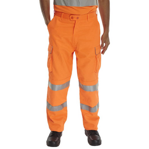 Railspec Trousers Orange
