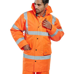 Waterproof Hi-Vis Jacket Orange
