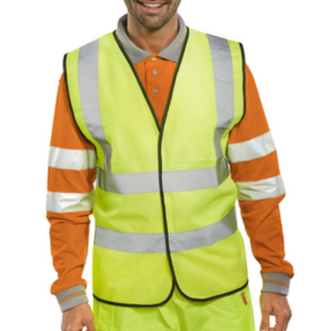 Bseen EN ISO 20471 Vest Saturn Yellow